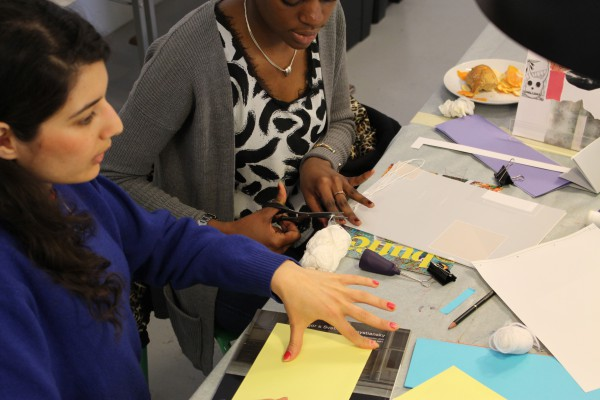 Fanzine workshop with Maryam Fanni