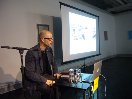 The Model and the City: A Seminar on Palle Nielsen´s project The Model (Moderna Museet 1968) and Tensta: Lars Bang Larsen, 2012