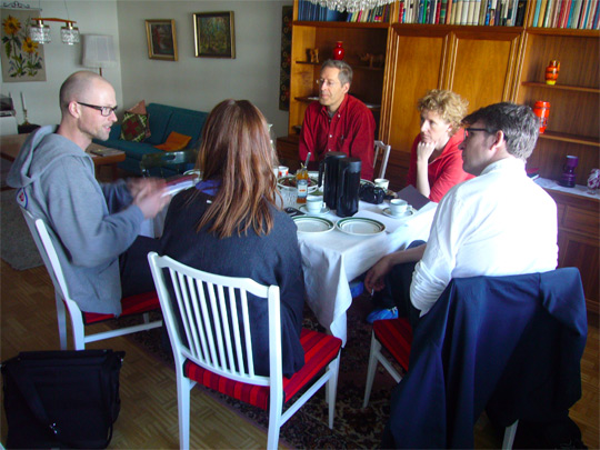 The New Model: meeting in Tensta´s museum dwelling, 2012