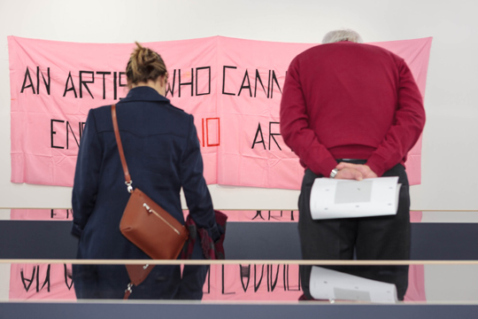Doing what you want: Marie-Louise Ekman accompanied by Sister Corita Kent, Mladen Stilinovic and Martha Wilson, Tensta konsthall, 2012