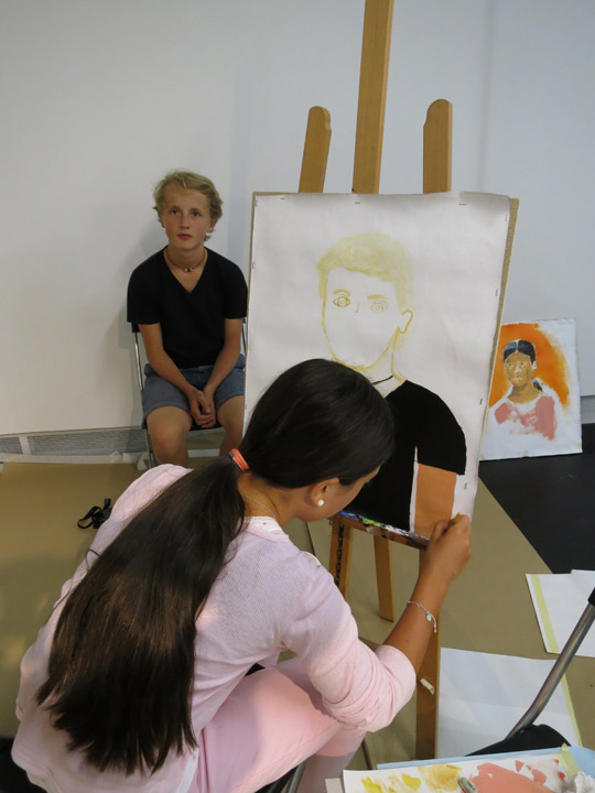Painting and Portraits with Filippa Arrias (The Royal Institute of Arts)